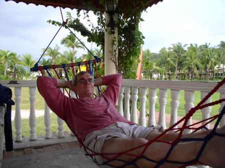 In the hammock